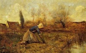Jean-Baptiste_Camille_Corot_Farmer_Kneeling_Picking_Dandelions